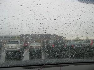 Rain at Race
